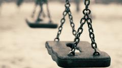 Swing Set Up Close Wallpaper 49864