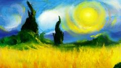 Van Gogh Painting Computer Wallpaper 50543