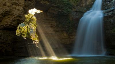 Waterfall Cave Wallpaper Pictures 52601
