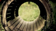 Wood Tunnel Wallpaper Pictures 50238