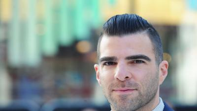 Zachary Quinto Face Widescreen Wallpaper 56425