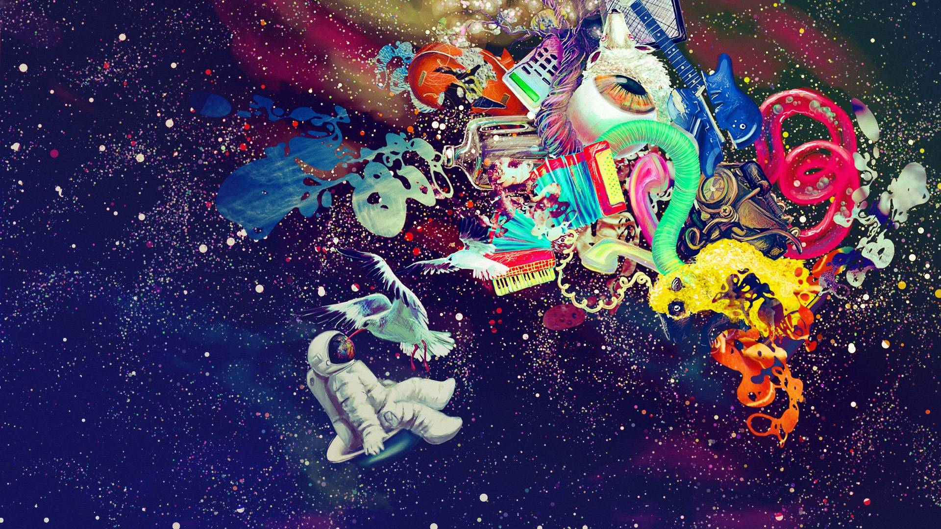 trippy abstract wallpaper 50034