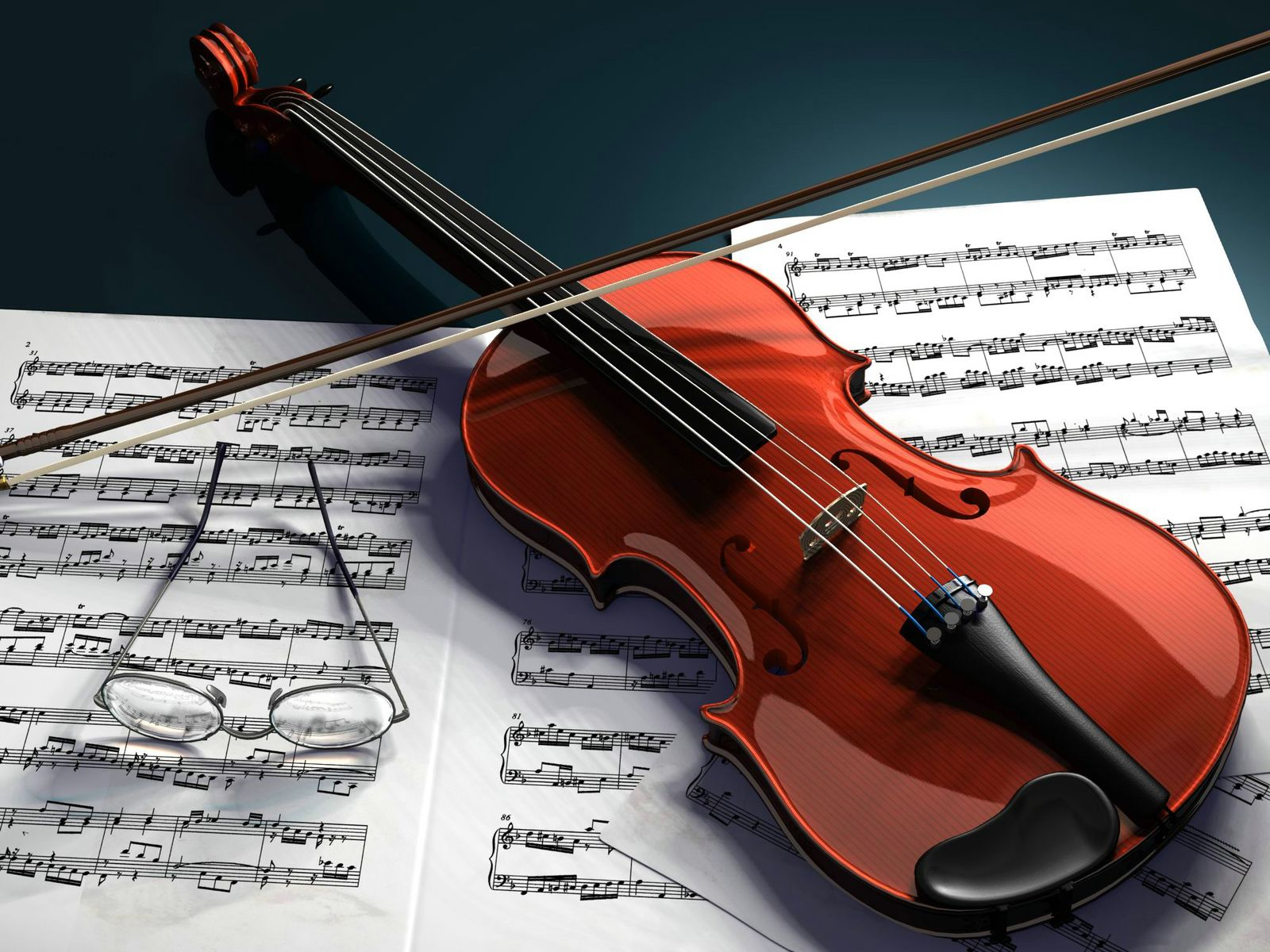 3d violin computer wallpaper 58794