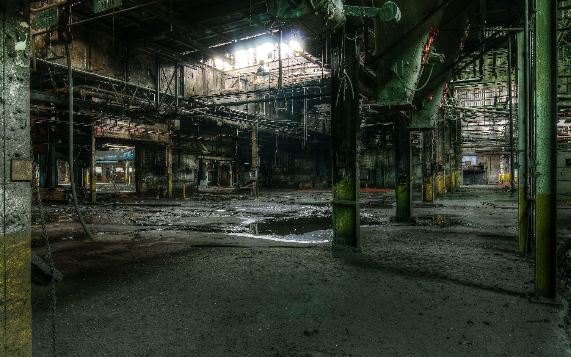 abandoned factory wallpaper 53908