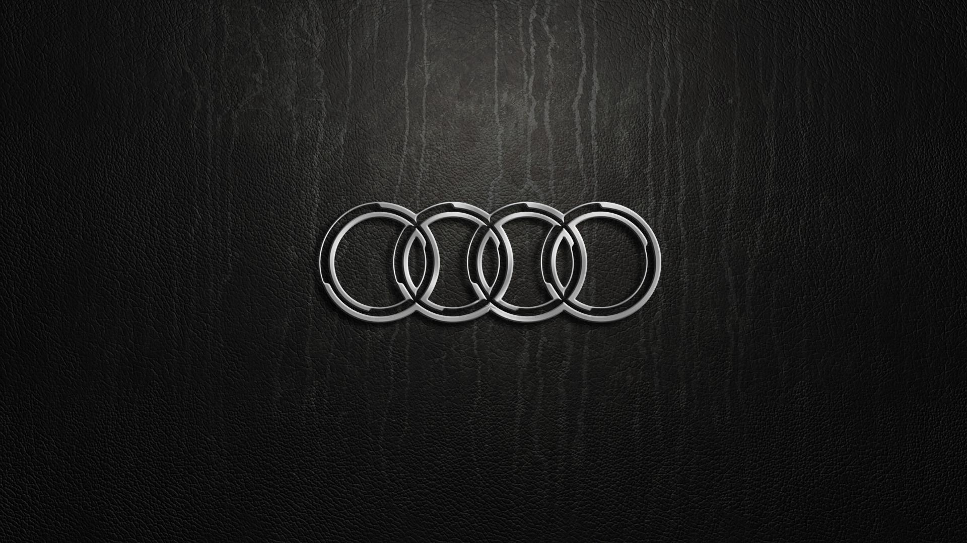 Audi Logo Computer Wallpaper 58774 1920x1080 Px