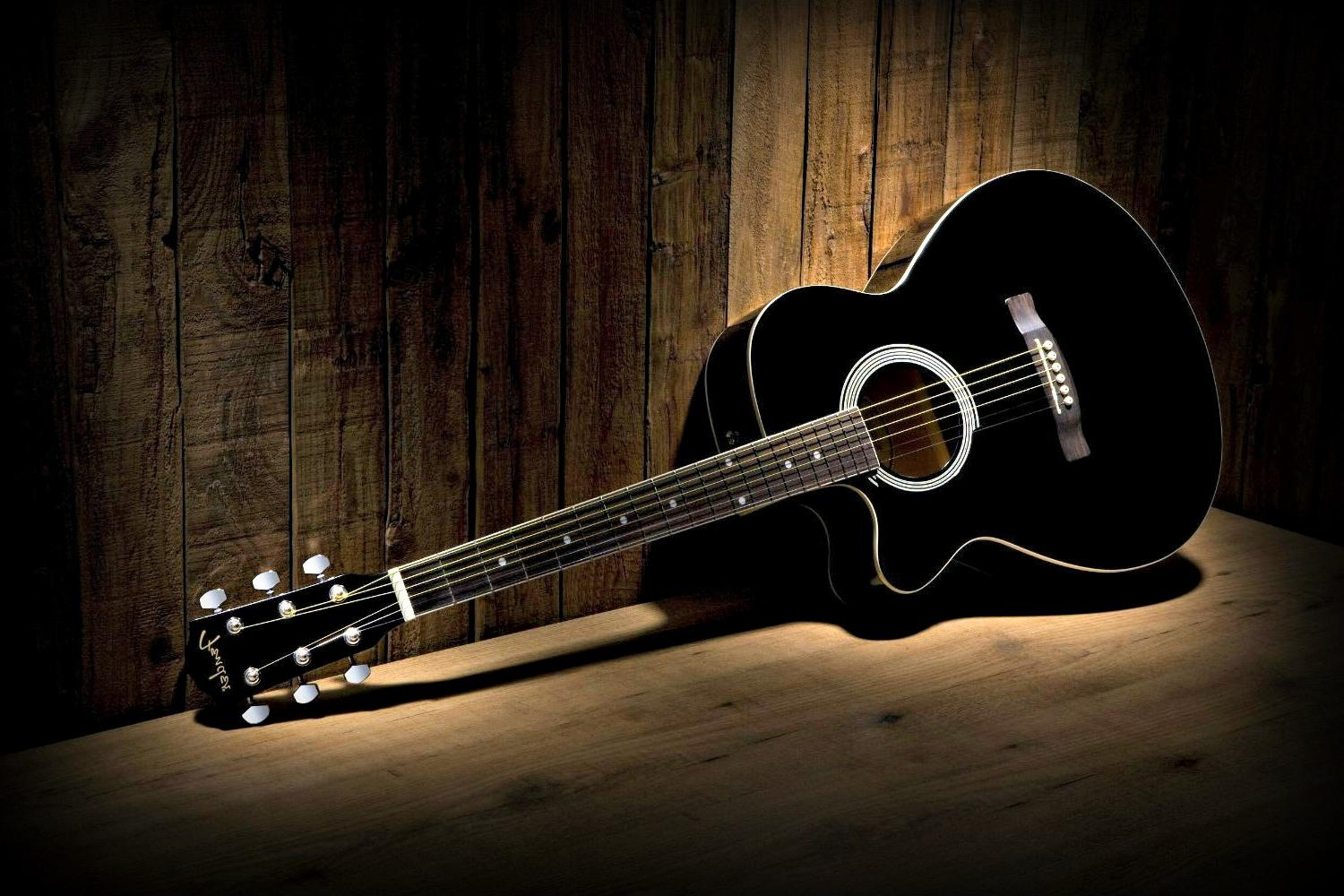 Black Guitar Wallpaper Photos 58787 1500x1000 px HDWallSourcecom