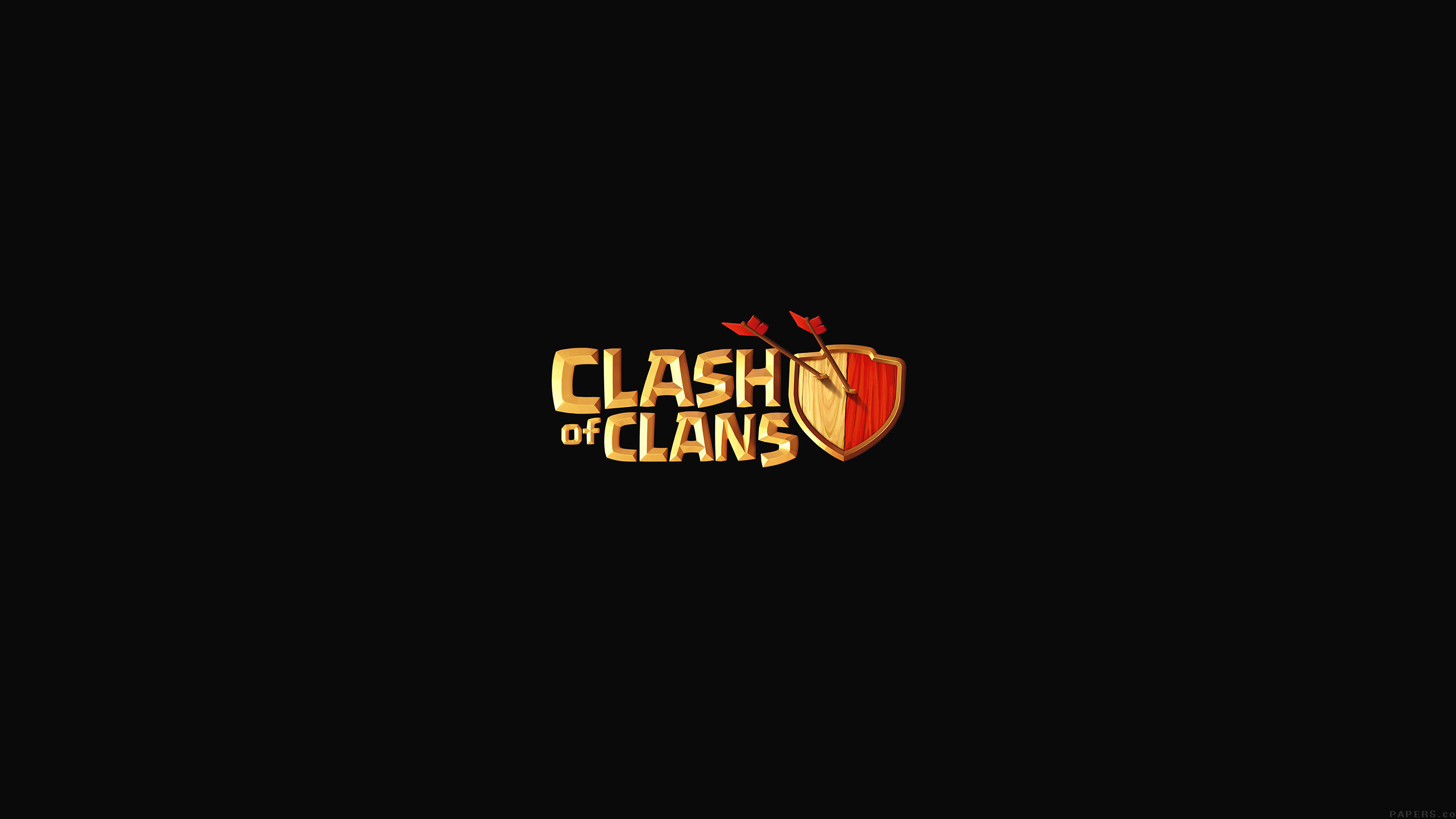 Clash of Clans Logo Wallpaper Background 49063 2560x1440 px