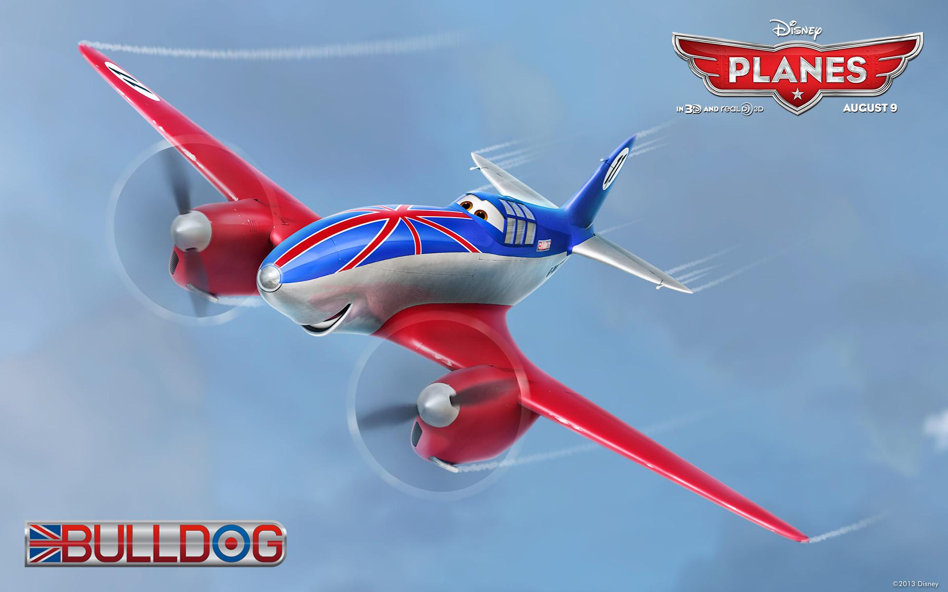 disney planes bulldog wallpaper 50458