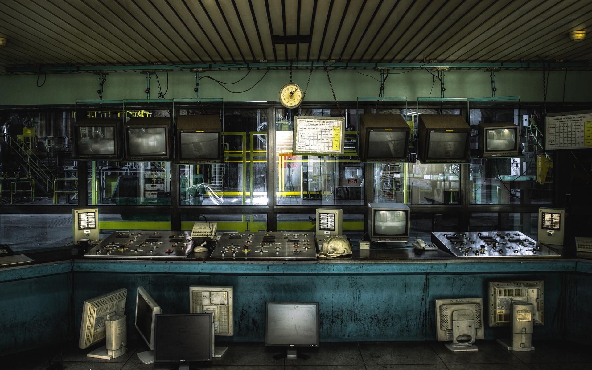 factory control room wallpaper 53910