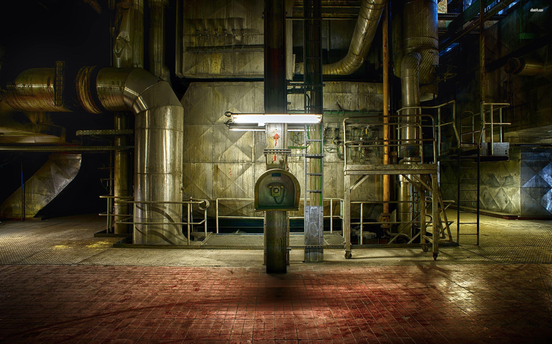 factory inside widescreen wallpaper 53913