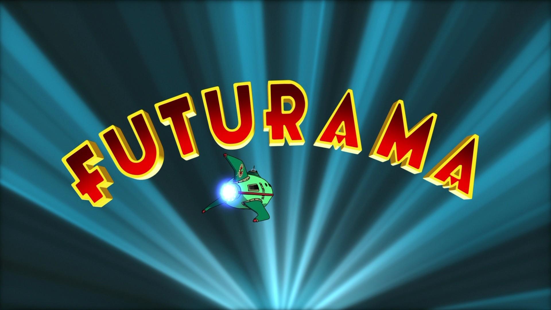 futurama cartoon logo wallpaper 49607