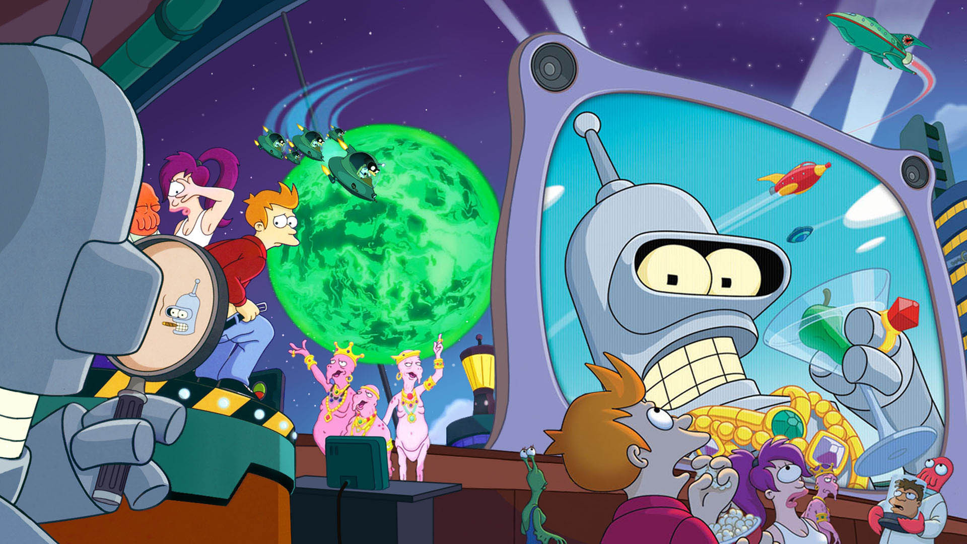 futurama cartoon wallpaper hd 49610