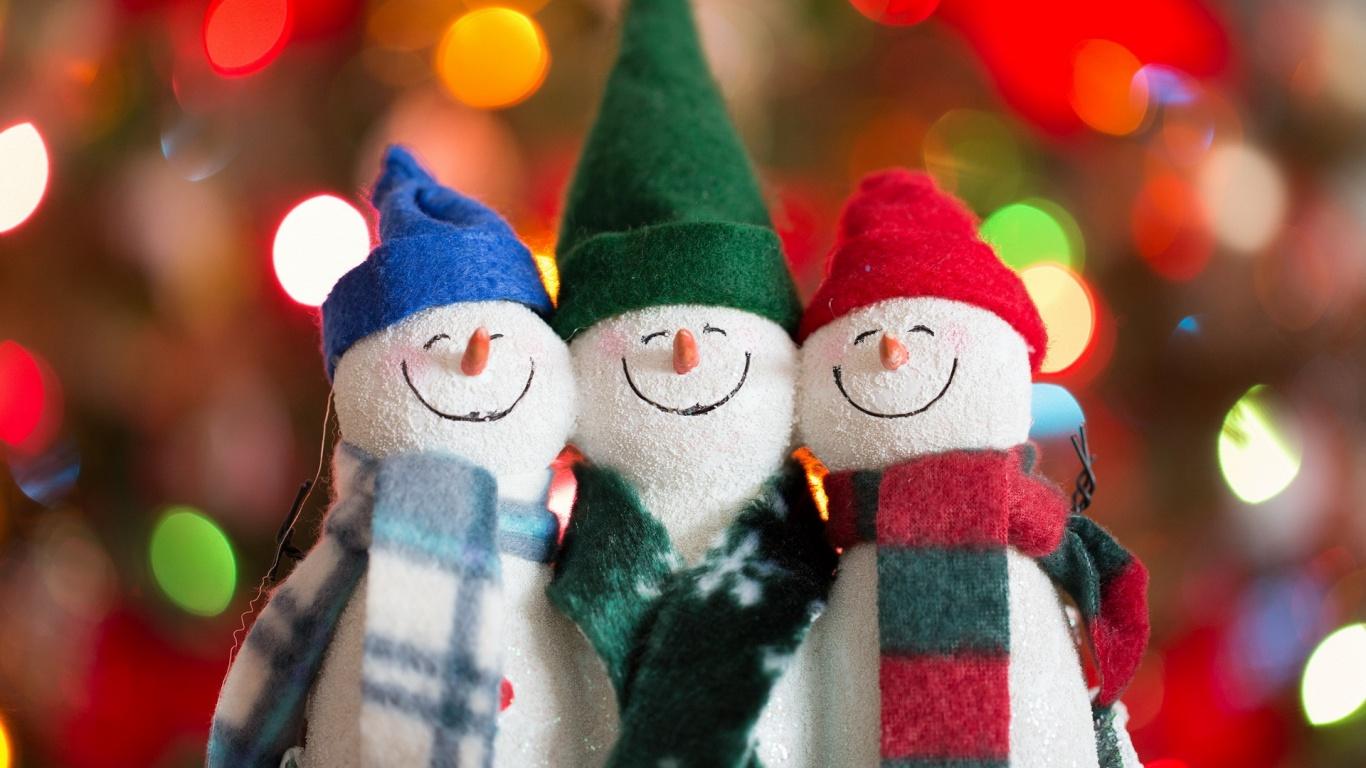 Happy Snowman Wallpaper Pictures 52519