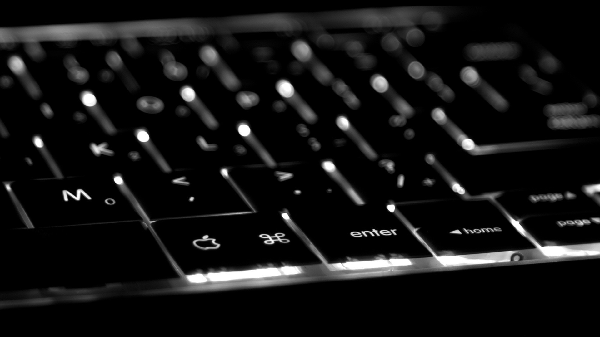 Wallpaper 3840X2160 Keyboard Apple