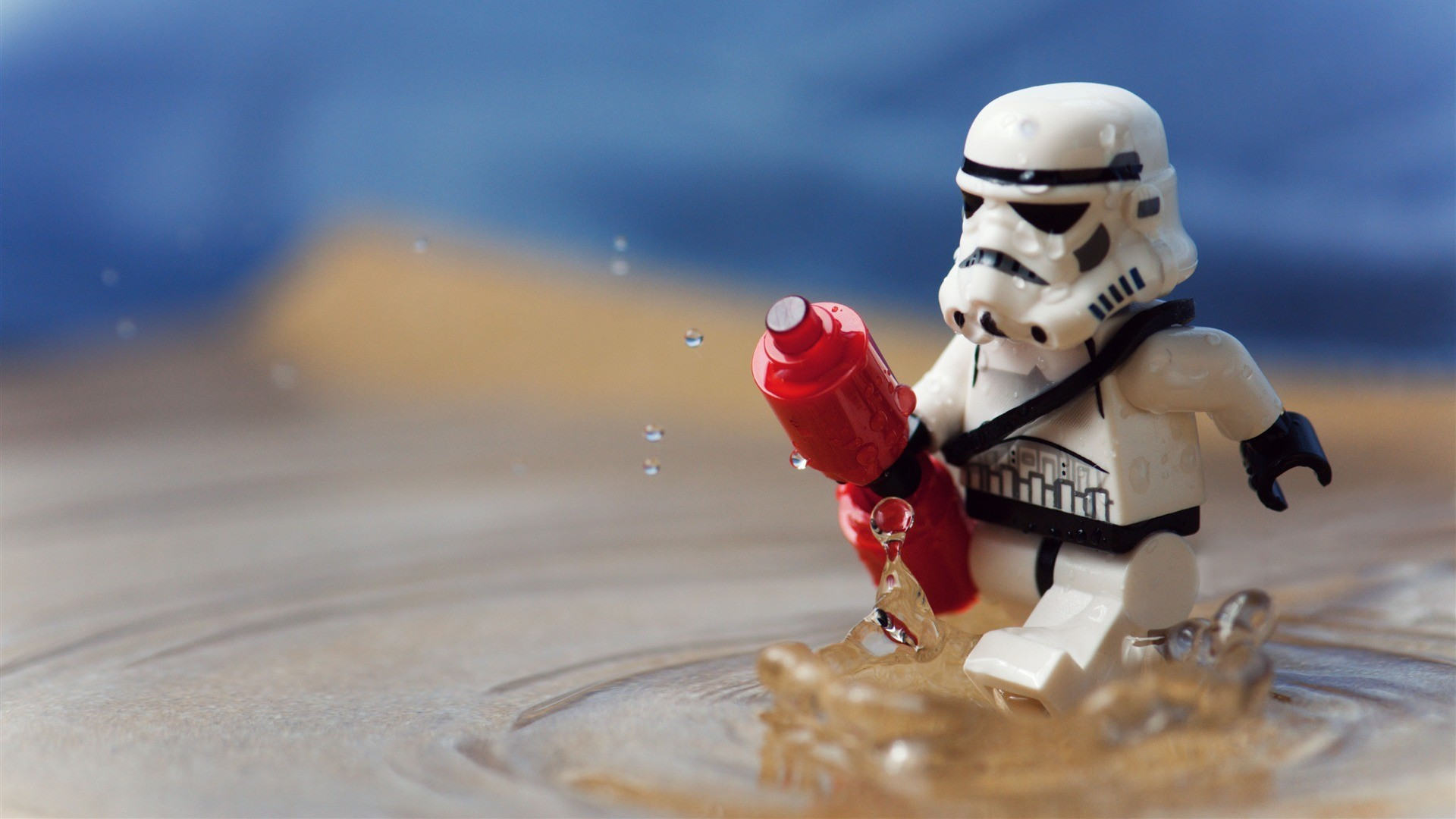 Lego Star Wars Stormtrooper Wallpaper 48986 1920x1080px