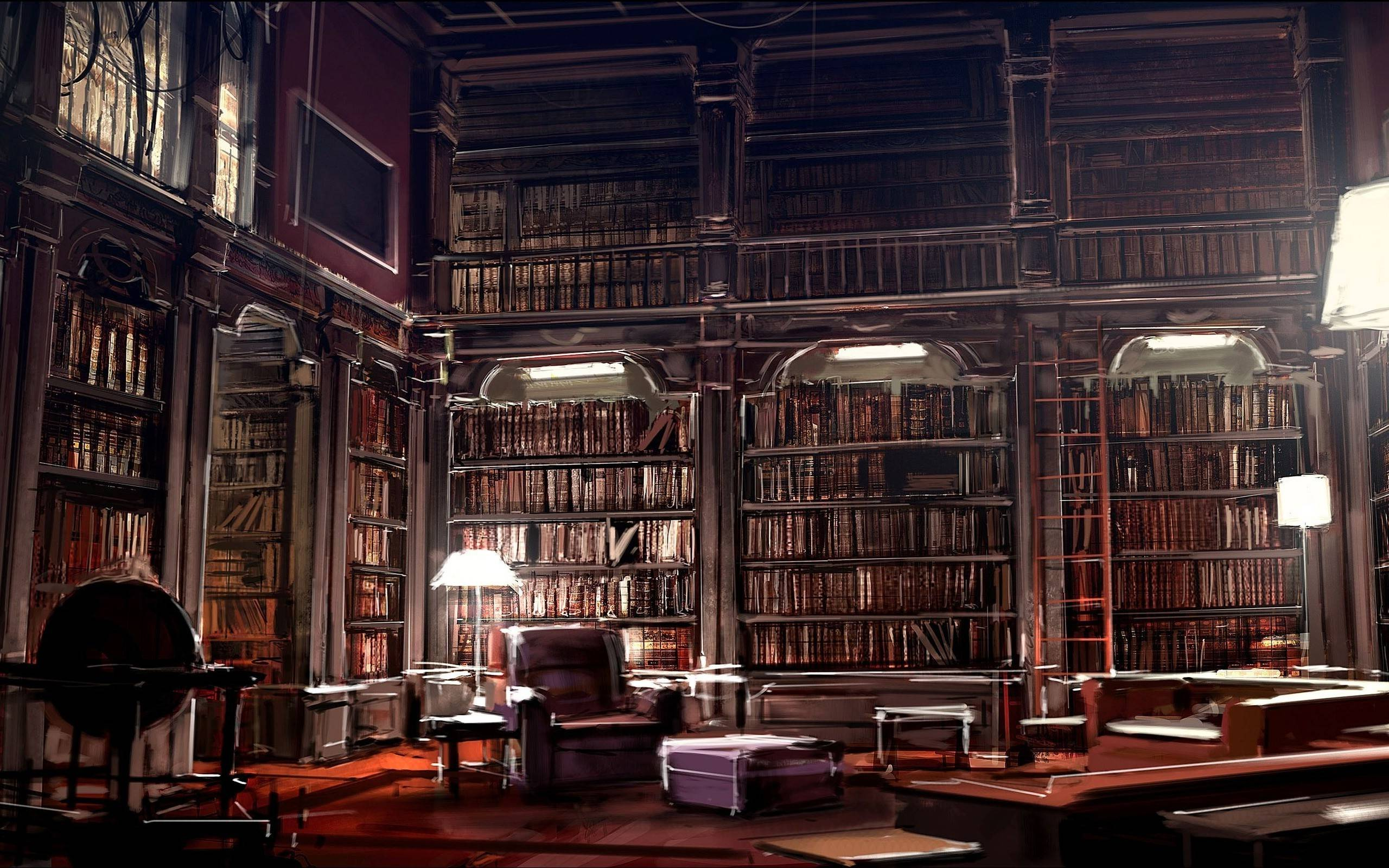 Library Widescreen Wallpaper 50368 2560x1600 px ...