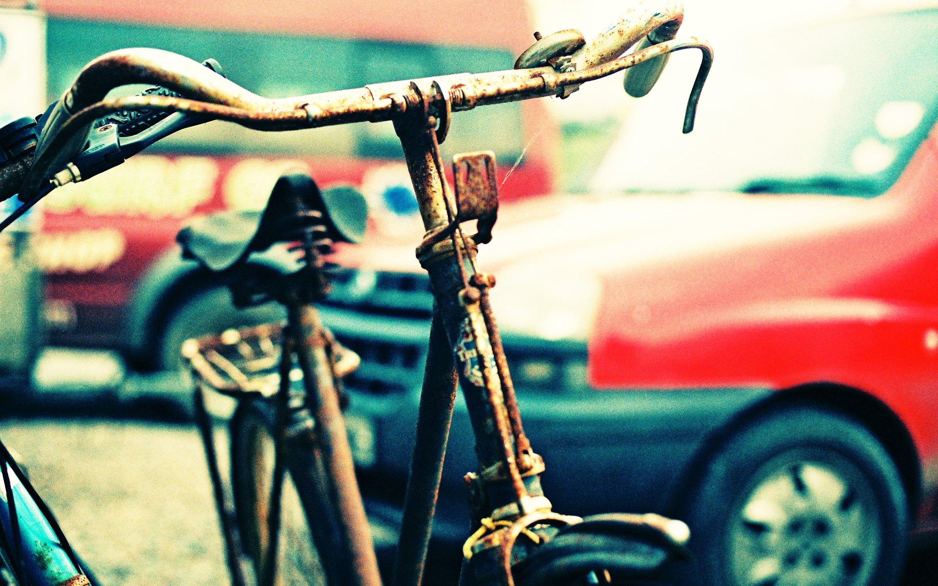 lomography rusty bike wallpaper 49164