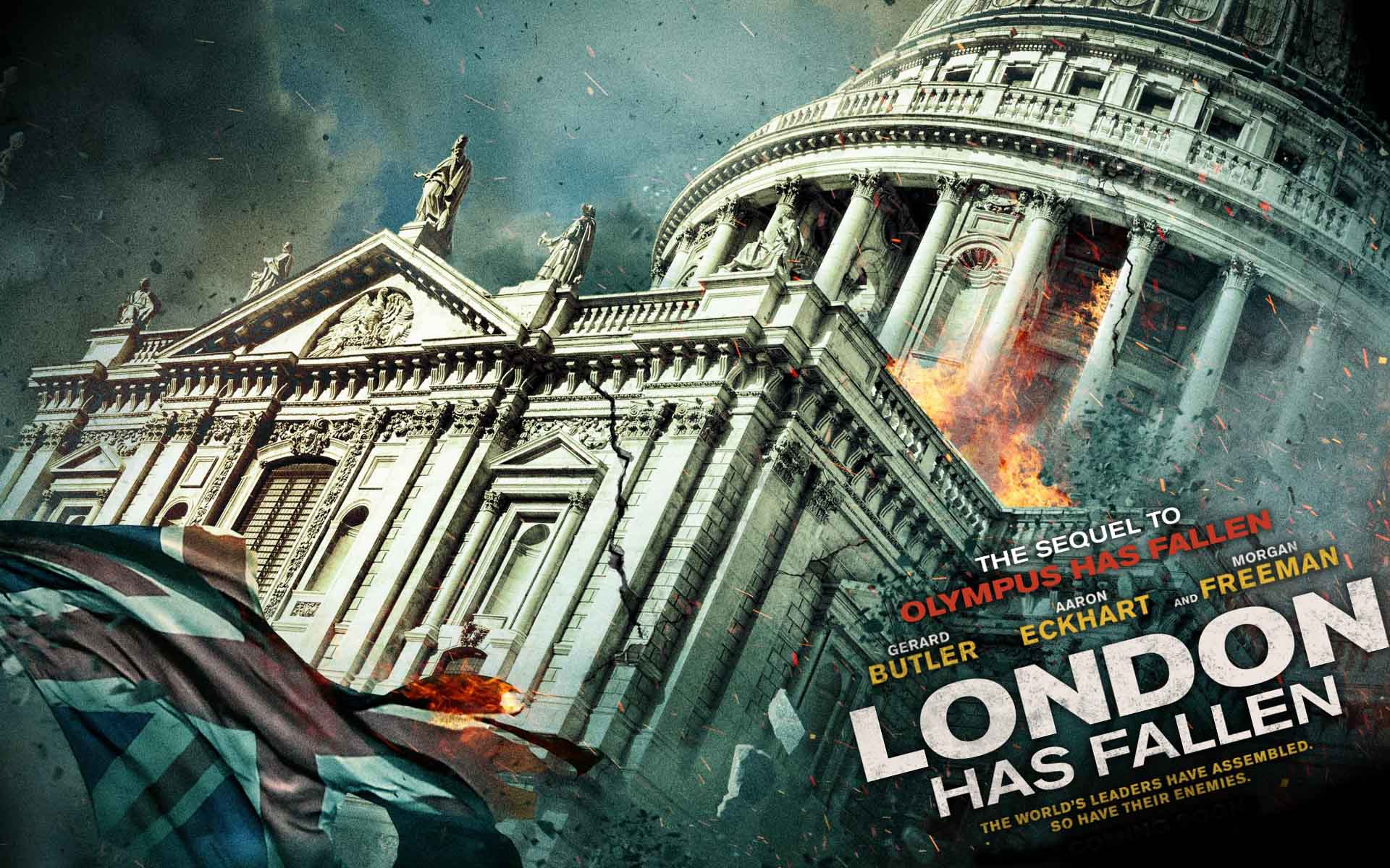 London Has Fallen Movie Poster Wallpaper 52341 1920x1200px