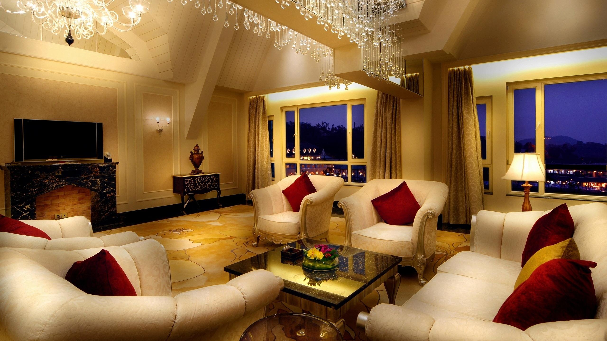 luxury living room wallpaper 49821