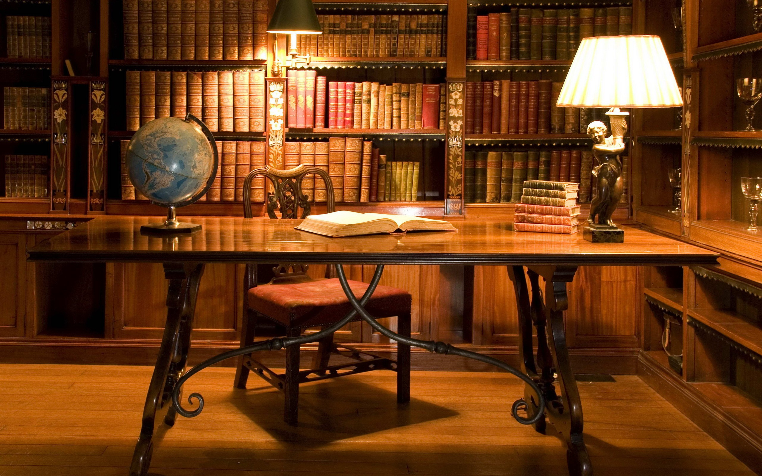 office library wallpaper background 50362