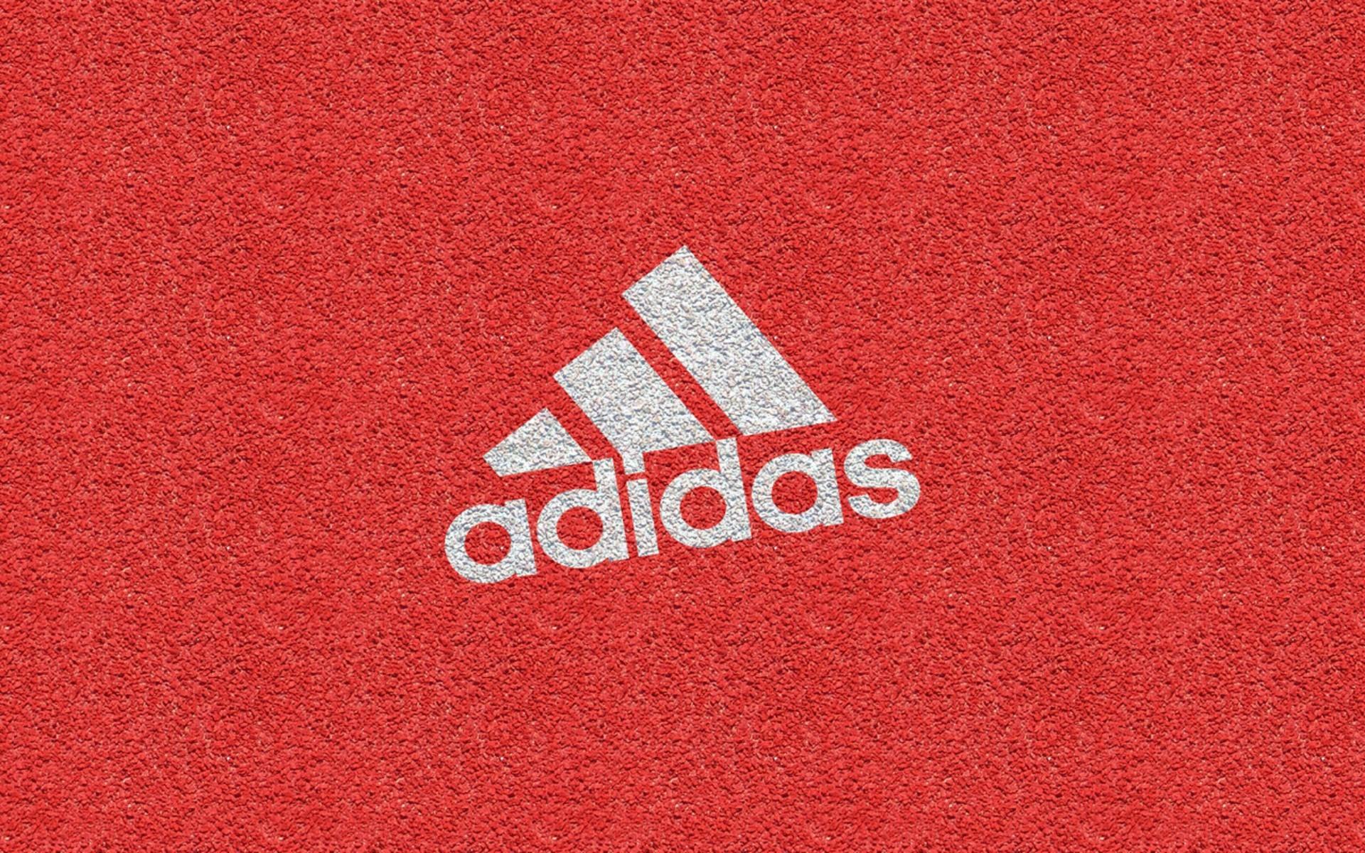 red adidas logo wallpaper 49268