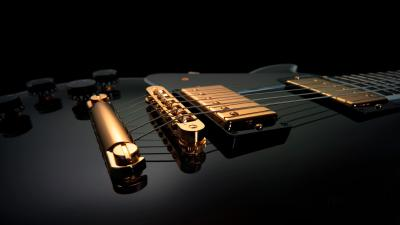 3D Guitar Wallpaper 58789