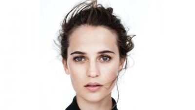 Alicia Vikander Face Wallpaper 56758