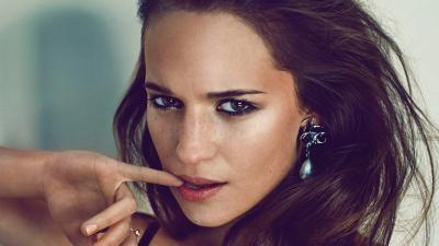 Alicia Vikander Face Wallpaper 56769