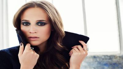 Alicia Vikander Makeup Wallpaper 56747