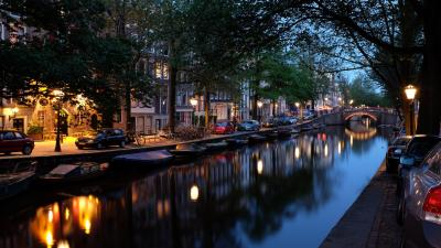 Amsterdam City Desktop Wallpaper 52509
