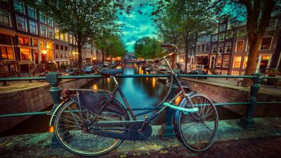 Amsterdam Evening Wallpaper 52507