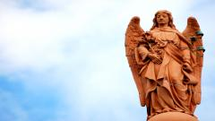 Angel Statue Computer Wallpaper 49660