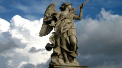 Angel Statue Desktop Wallpaper 49653