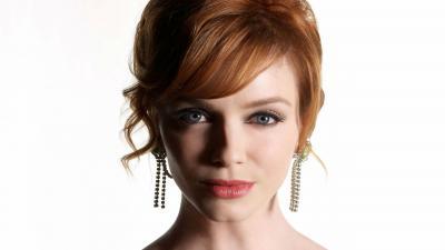 Christina Hendricks Face HD Wallpaper 53173