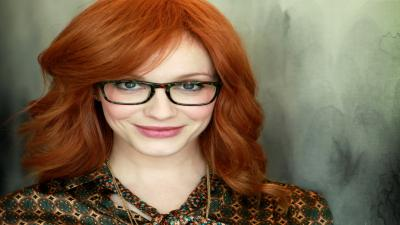 Christina Hendricks Glasses Wallpaper 53171