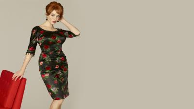 Christina Hendricks Widescreen Wallpaper 53169