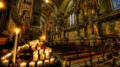Church Interior Wallpaper 49640