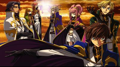 Code Geass Characters Wallpaper 52498
