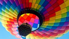 Colorful Hot Air Balloon Wallpaper 48993