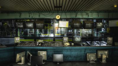 Factory Control Room Wallpaper 53910