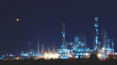 Factory Night Computer Wallpaper 53903