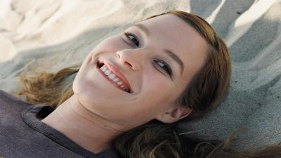Franka Potente Smile Wallpaper 56783