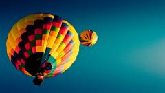 Hot Air Balloon Wallpaper Background 48995