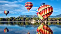 Hot Air Balloon Wallpaper HD 48994