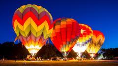 Hot Air Balloon Widescreen Wallpaper 48992