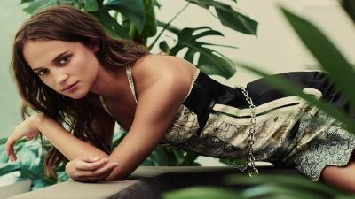 Hot Alicia Vikander Wallpaper 56760