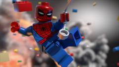 Lego Movie Spiderman Wallpaper 48985
