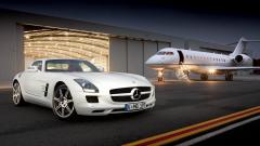 Luxury Car and Jet Wallpaper 49822