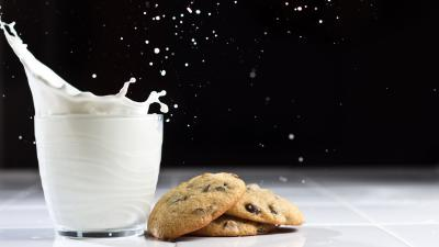 Milk and Cookies Widescreen Wallpaper 52135