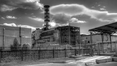 Monochrome Factory Desktop Wallpaper 53909